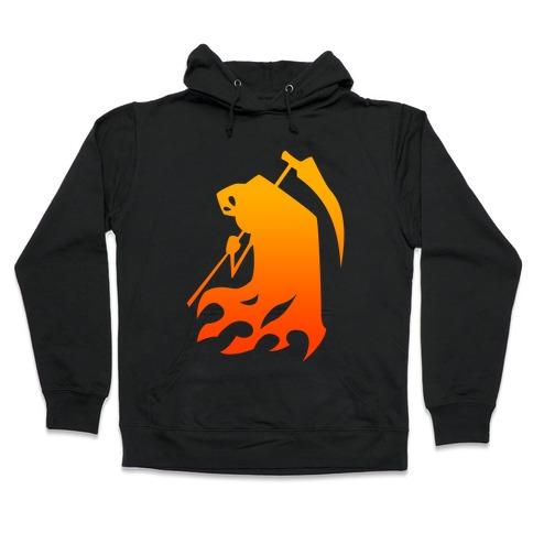 Kanji's Grim Reaper (Persona) Hooded Sweatshirt
