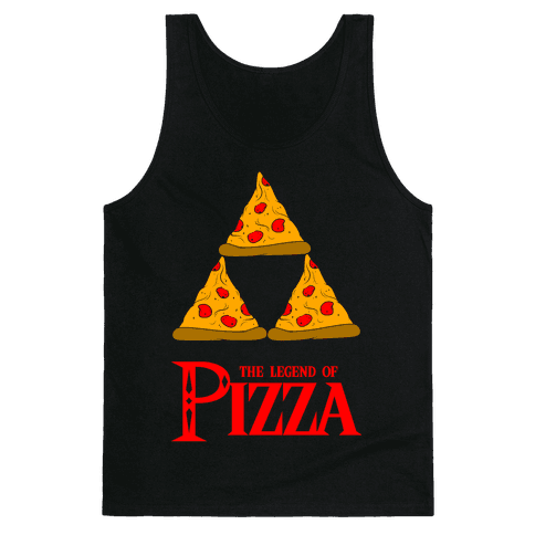 Legend Of Pizza Tank Top