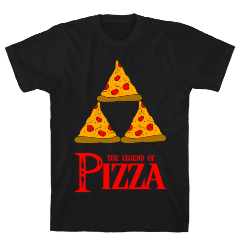 Legend Of Pizza Mens T-Shirt