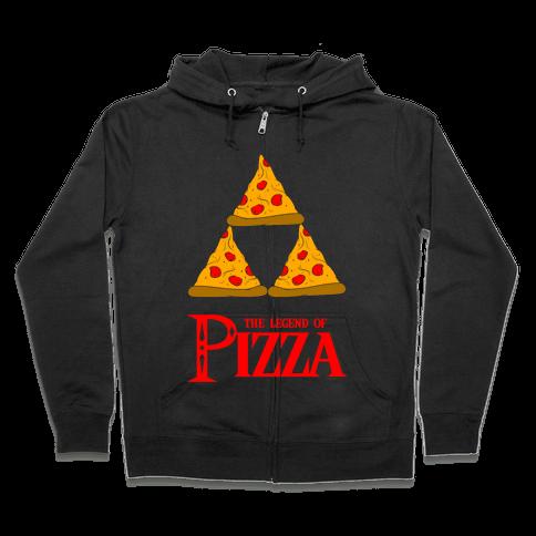 Legend Of Pizza Zip Hoodie