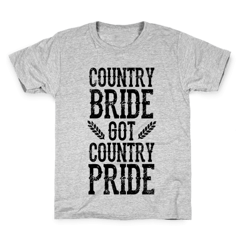 Country Bride Kids T-Shirt