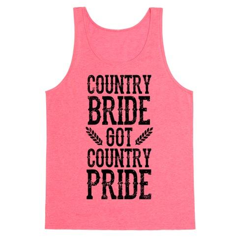Country Bride Tank Top