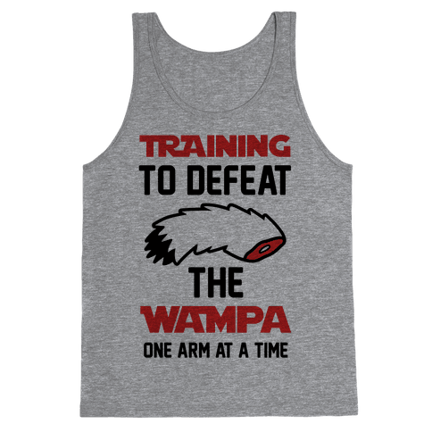 Training To Defeat The Wampa - One Arm at a Time Tank Top