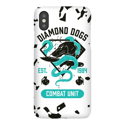 Diamond Dogs Combat Unit Phone Case