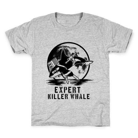 Expert Killer Whale Kids T-Shirt