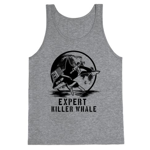 Expert Killer Whale Tank Top