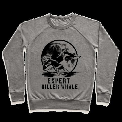 Expert Killer Whale Pullover