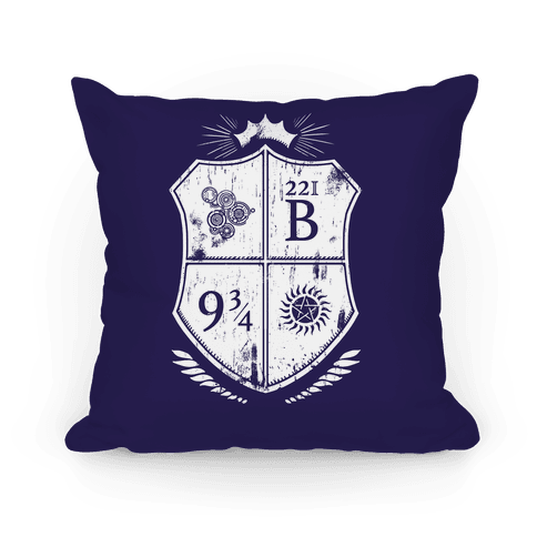 Fandom Family Crest Pillow