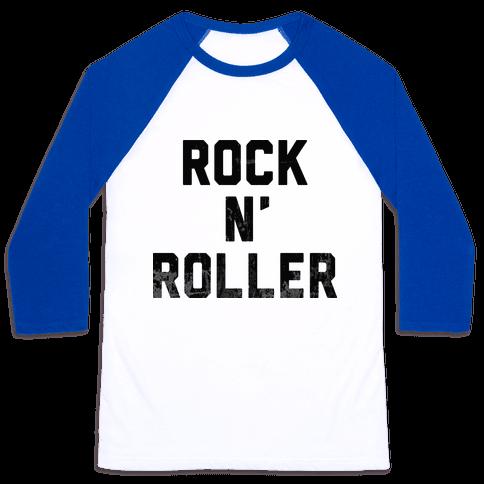 Rock n' Roller Baseball Tee