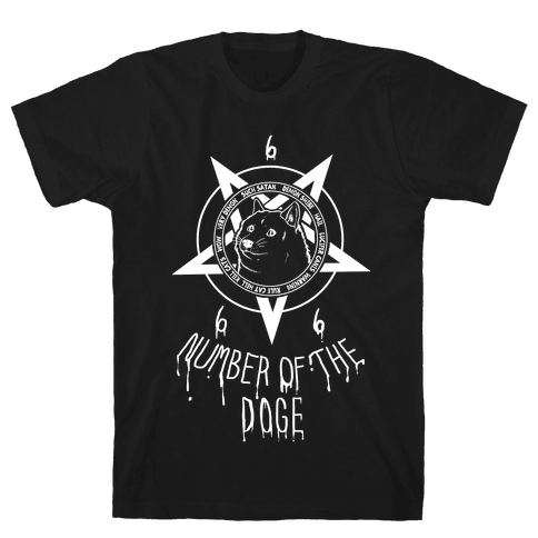 Number of the Doge Mens T-Shirt