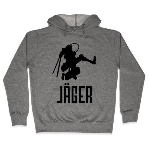 Eren Jaeger Silhouette Hooded Sweatshirt