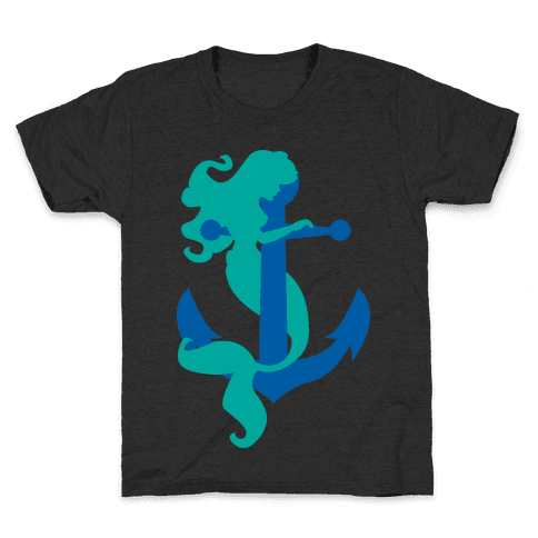 Mermaid Anchor Kids T-Shirt