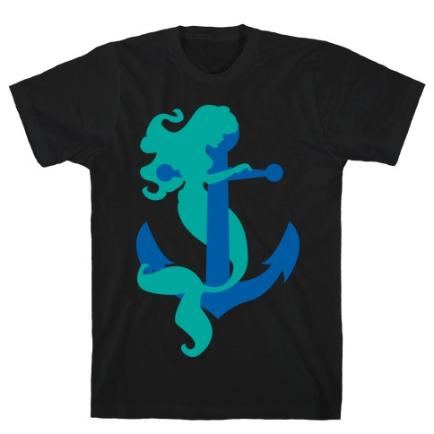Mermaid Anchor T-Shirt