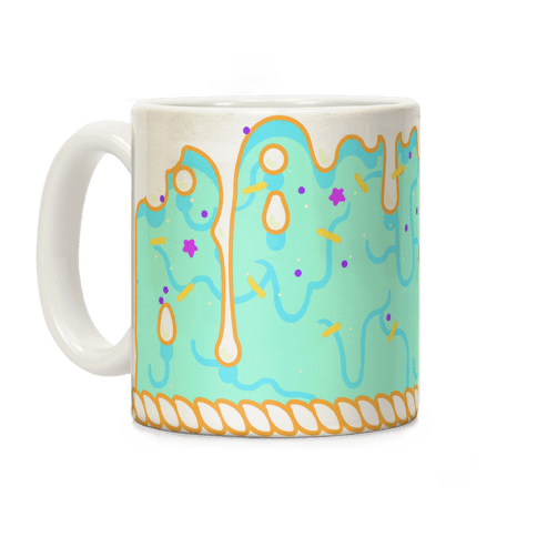 Green Cupcake Icing Coffee Mug