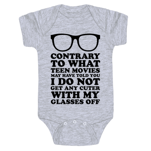 Teen Movies Baby Onesy