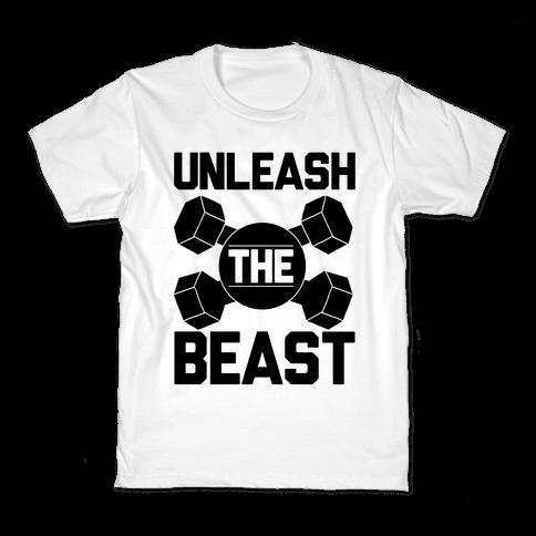 Unleash The Beast Kids T-Shirt