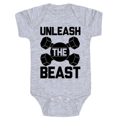 Unleash The Beast Baby Onesy