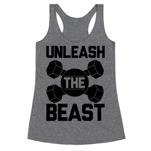 Unleash The Beast Racerback Tank Top