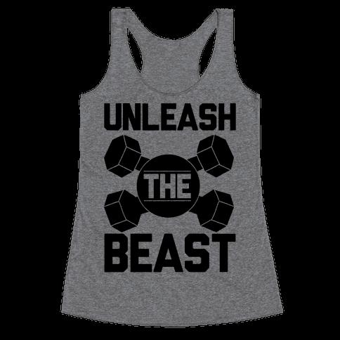 Unleash The Beast Racerback Tank Top
