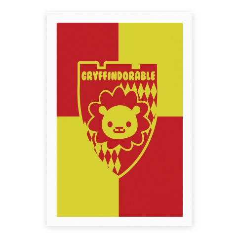 Gryffindorable Poster