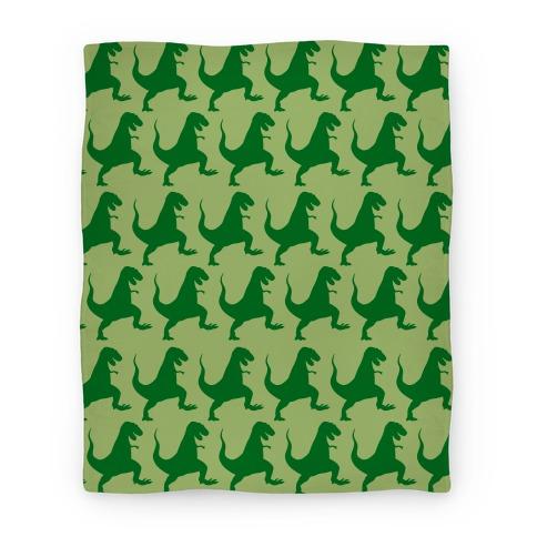 Dino Pattern Blanket Blanket