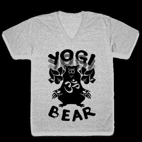 Yogi Bear V-Neck Tee Shirt
