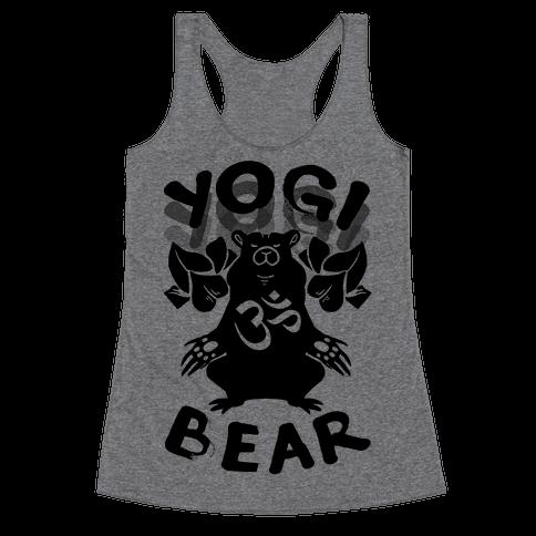 Yogi Bear Racerback Tank Top