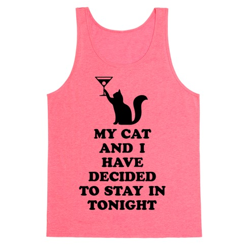 My Cat And I Tank Top