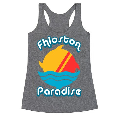 Fhloston Paradise Racerback Tank Top