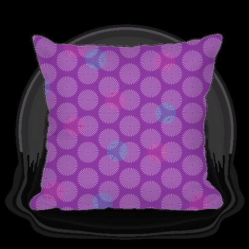 Purple Radial Mandalas Pattern