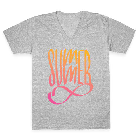 Summer Forever V-Neck Tee Shirt