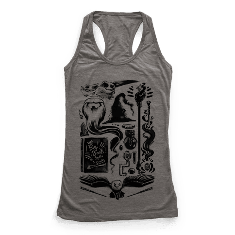 Tools of the Wizard Racerback Tank Top
