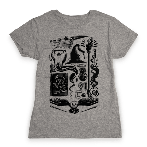 Tools of the Wizard Womens T-Shirt