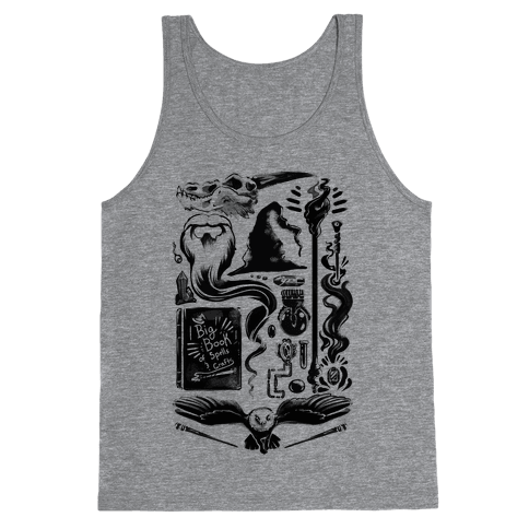 Tools of the Wizard Tank Top