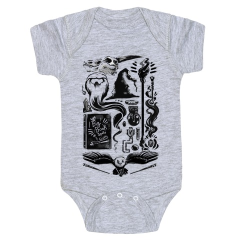 Tools of the Wizard Baby Onesy