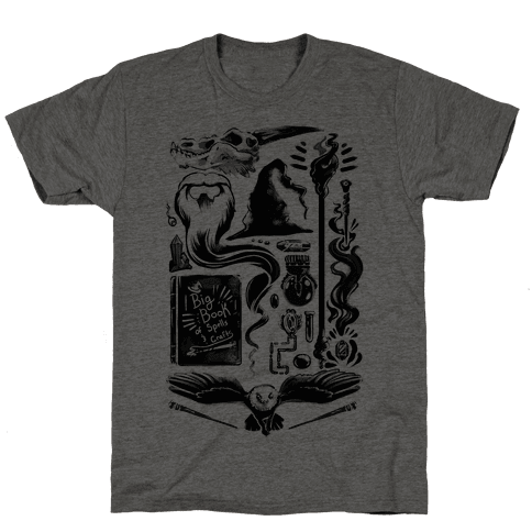Tools of the Wizard Mens T-Shirt