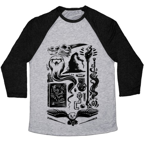 Tools of the Wizard Baseball Tee