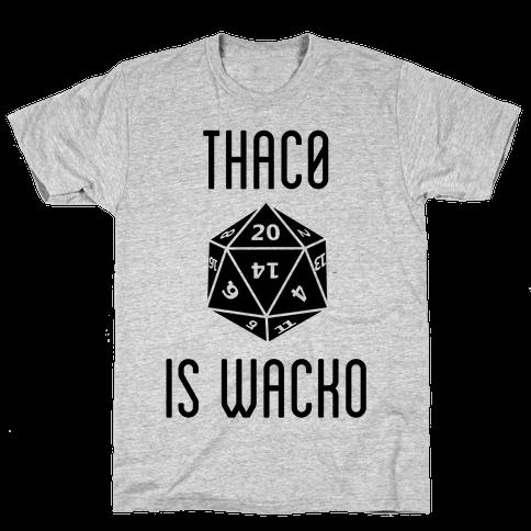 Thac0 Is Wacko Mens T-Shirt