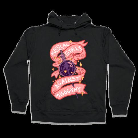 Magical Girls Against Misogyny Hooded Sweatshirt