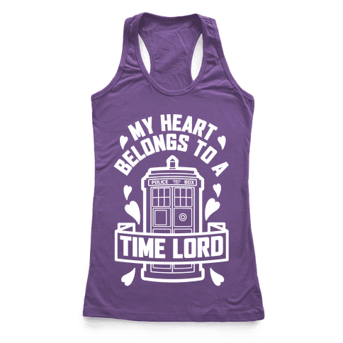 My Heart Belongs To A Time Lord
