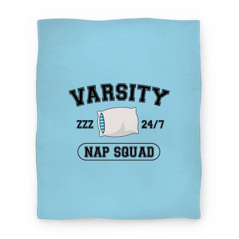 Varsity Nap Squad Blanket