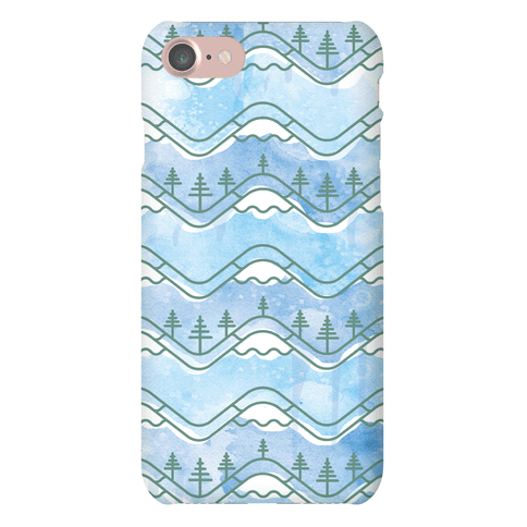 Watercolor Mountains Phone Case