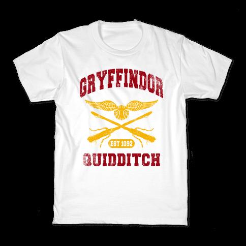 Gryffindor Quidditch (Vintage Tank) Kids T-Shirt