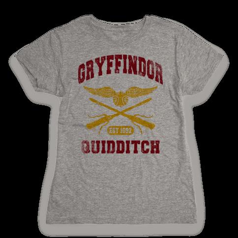 Gryffindor Quidditch (Vintage Tank) Womens T-Shirt