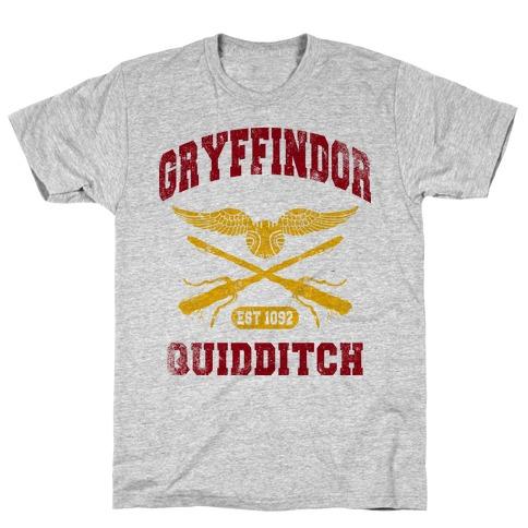 Gryffindor Quidditch (Vintage Tank) T-Shirt