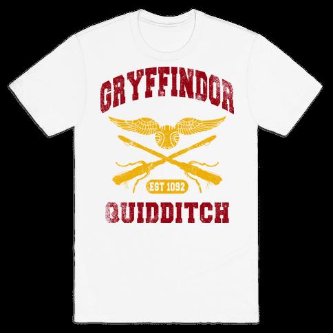 Gryffindor Quidditch (Vintage Tank) Mens T-Shirt