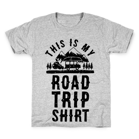 This Is My Road Trip Shirt Kids T-Shirt