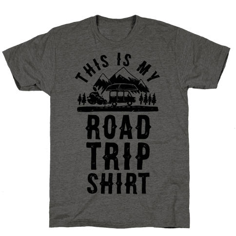 This Is My Road Trip Shirt Tee