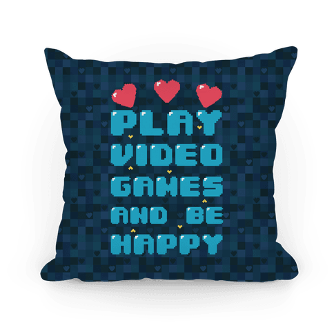 Play Video Games And Be Happy