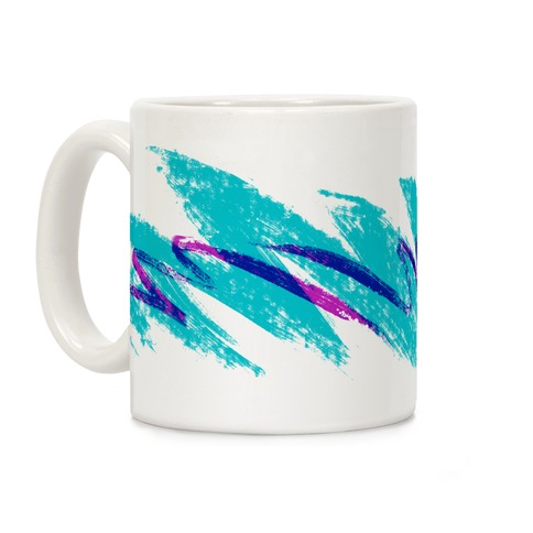 90s Jazz Wave Coffee Mug Lookhuman